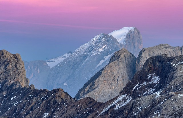 *Marmolada Glacier @ golden hour*