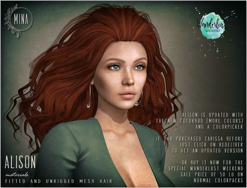 MINA Hair ~ Alison ~ 50L for Wanderlust Weekend
