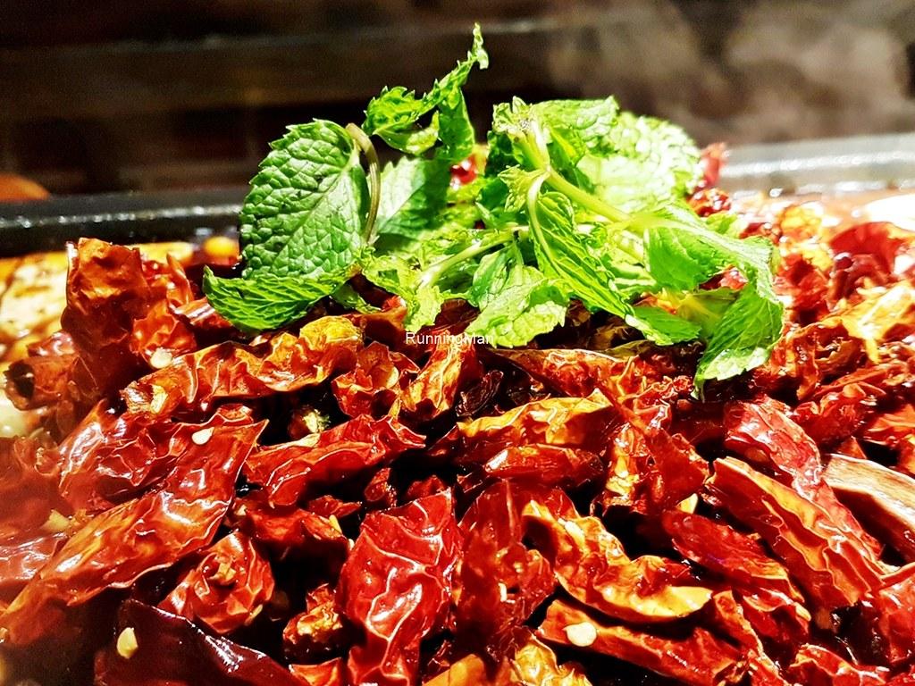 Dried Chili & Parsley