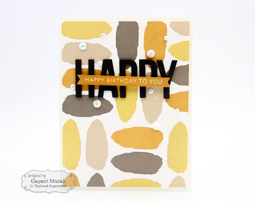 Color Combo #1 card Happy