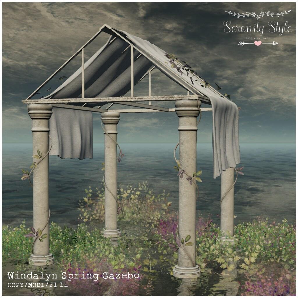Serenity Style-Windalyn Spring Gazebo