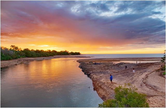 Rapid Creek sunset - Darwin Harbour, NT, Australia