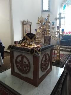14.03.2020   Литургия в Хутынском монастыре