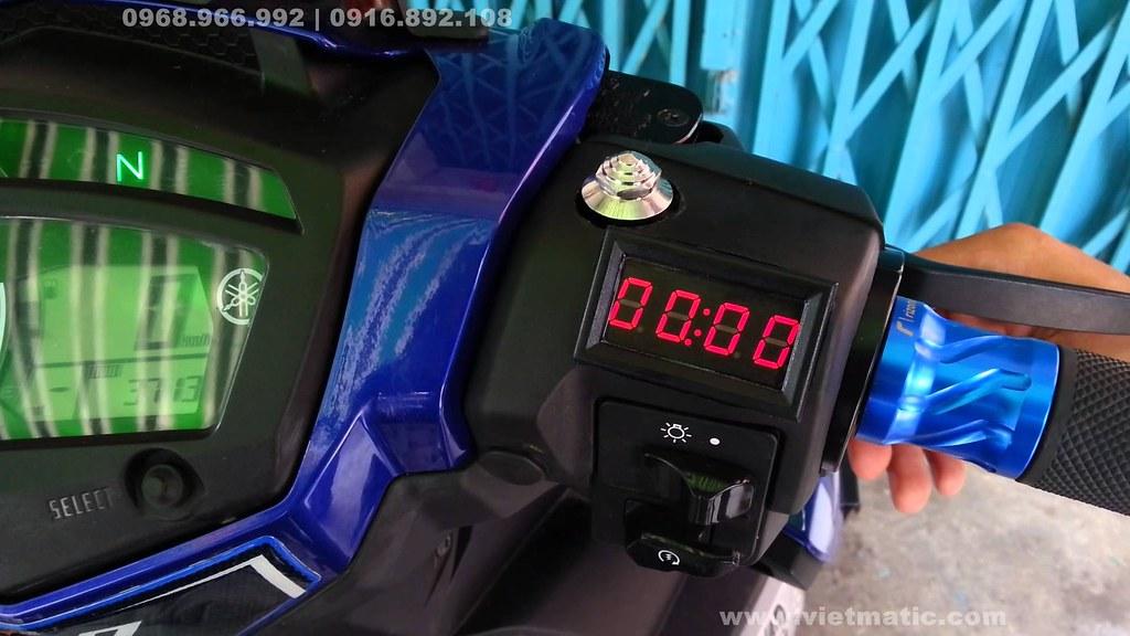 Hình ảnh lắp đặt thực tế lên xe Yamaha Exciter