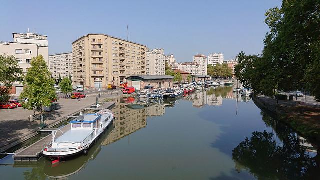 Canal du Midi Marina Toulouse