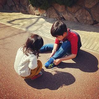 兄と妹。 これを見た瞬間、自分の兄貴とあたしにもきっとこんな時があったのだろうと思った。 この二人には大人になっても仲良しでいてほしいな。