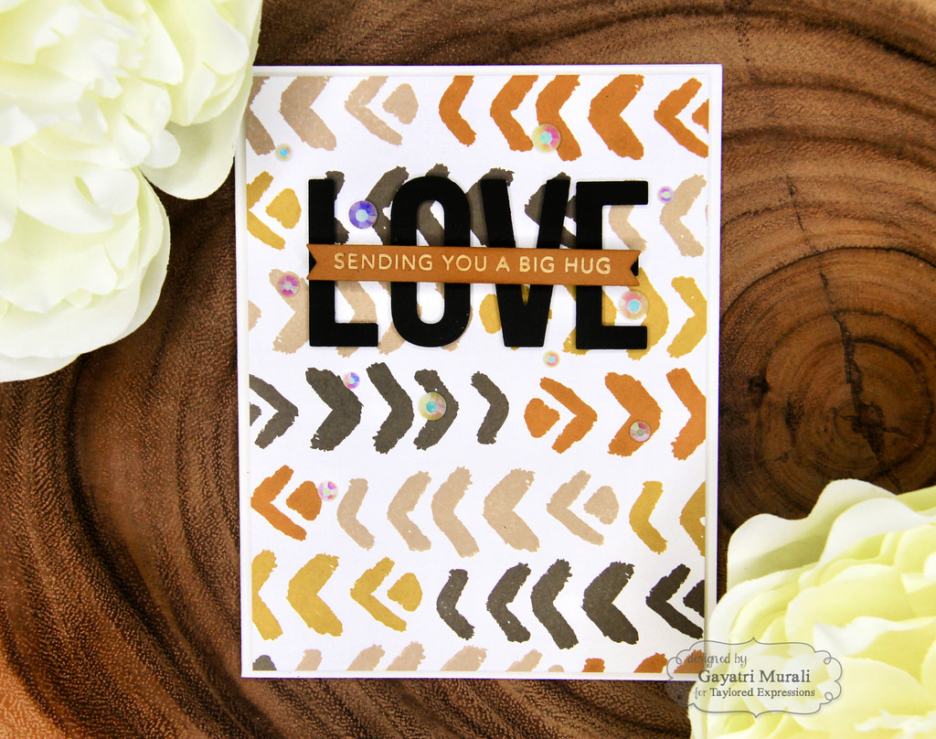 Color Combo #1 card Love 1
