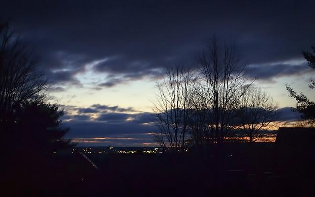 Morning Sky Over Ithaca, NY