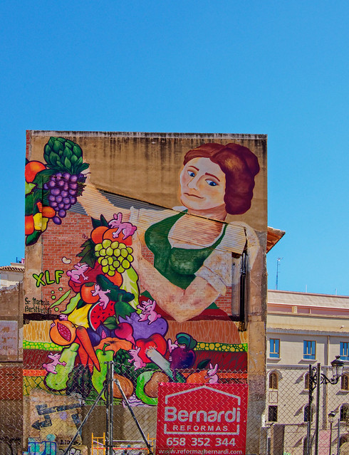Decorated Wall (Valencia) Olympus OM-D EM1.2 & Lumix G 20mm f1.7 Prime