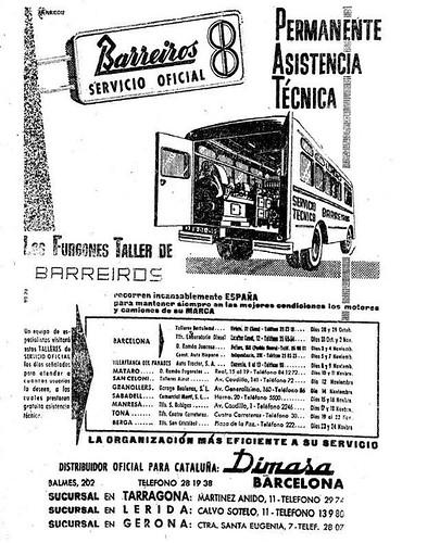 Barreiros publicitat Dimasa Lleida