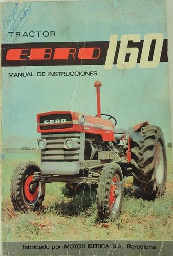 portada catàleg tractor Ebro 160