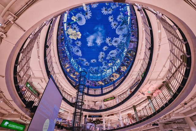 Shopping Center Interior Architecture