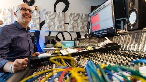 Stefano Amerio al mixer