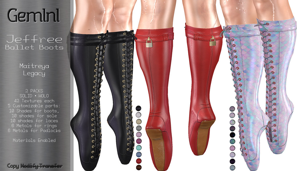 •Gemini -Jeffree Ballet Boots- @ Fetish Fair•