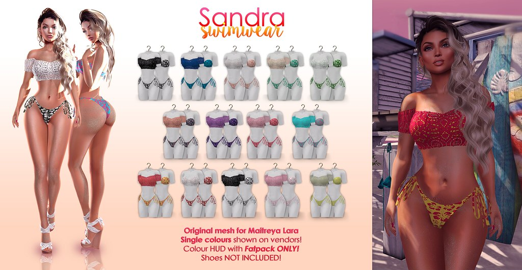 Sandra swimsuit & lace top + GIVEAWAY