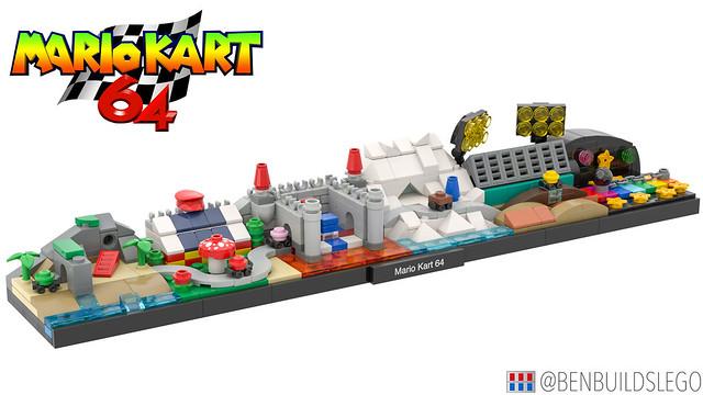 LEGO Mario Kart Nintendo