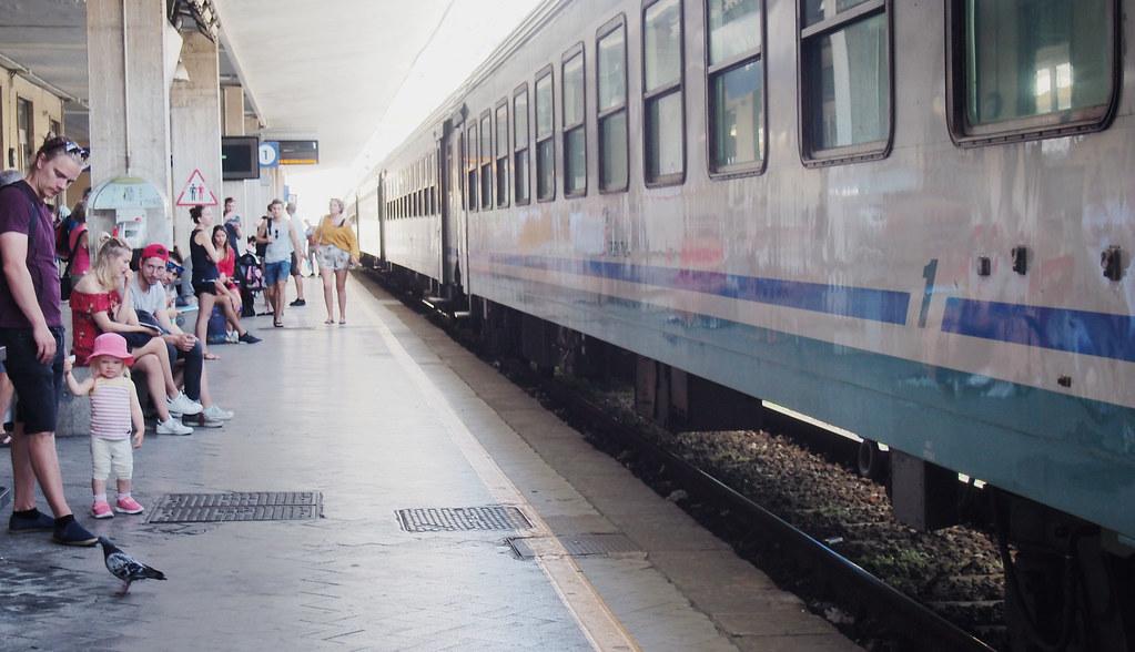 La Spezia Italia juna-asema