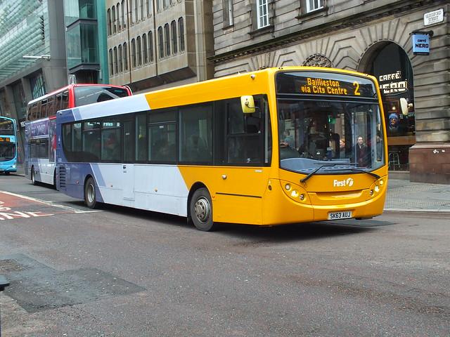SK63AUJ First Glasgow