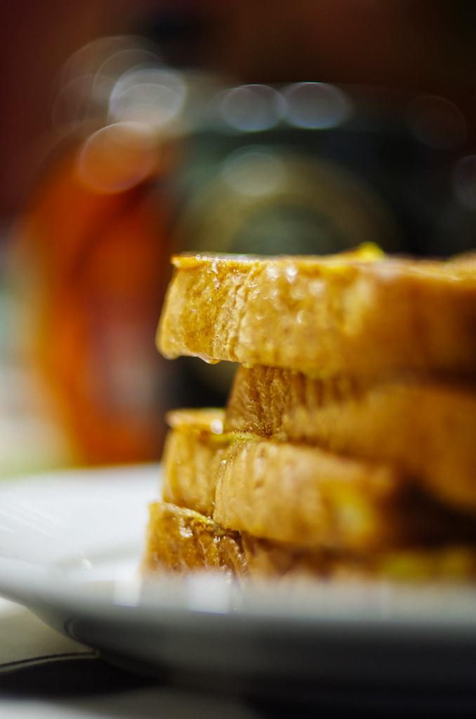 french toast bokeh