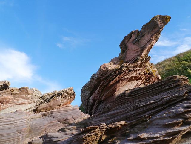 Red sandstone, Podlie Craig