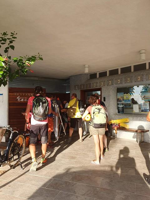 2019-09-08 Marxa Aquàtica. Curs per a monitors a Salou
