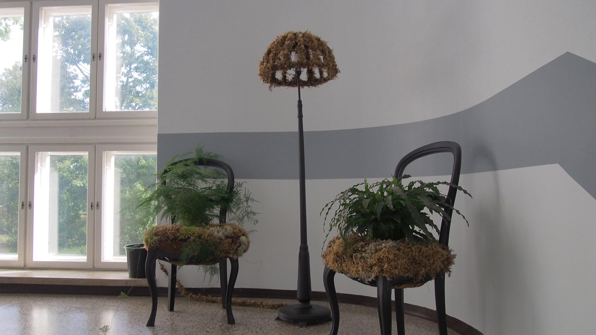 Harjun oppimiskeskus asuntola sisältä