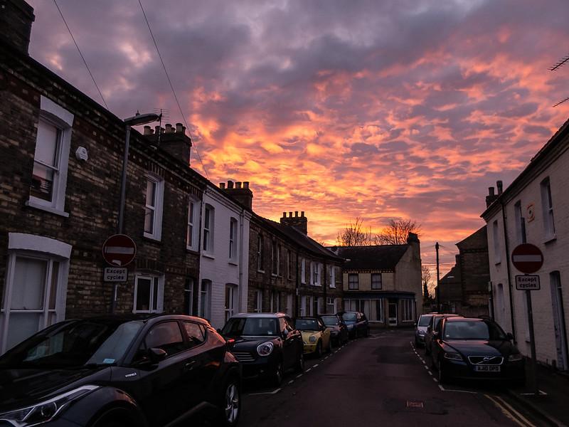 Cambridge sunsets