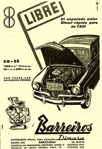 motor Barreiros Diesel