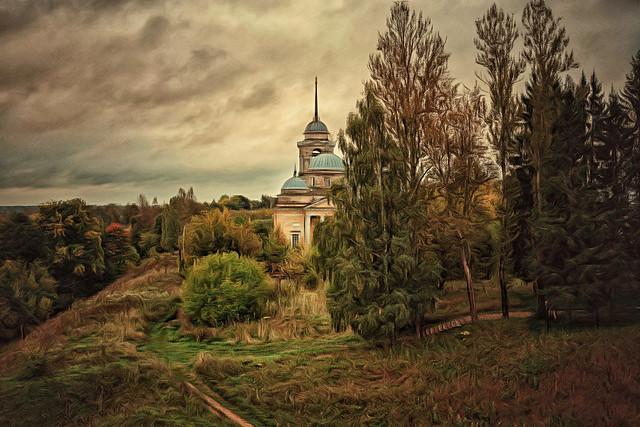 Autumn Morning in Staritsa