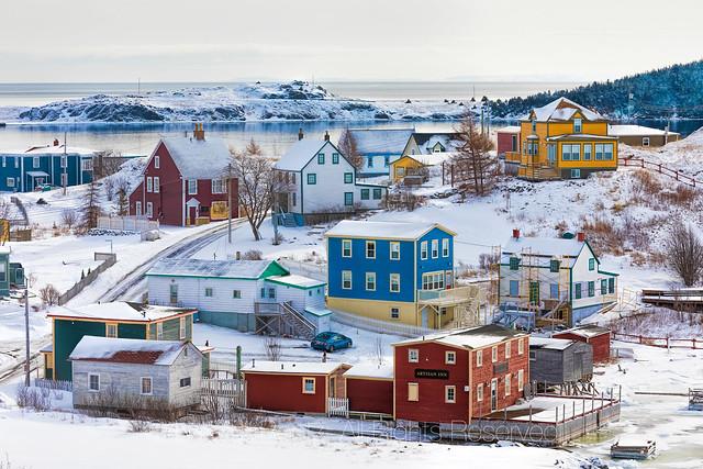 Colorful Trinity, Newfoundland