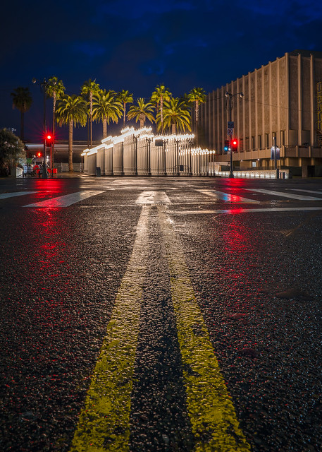 LACMA's Urban Lights