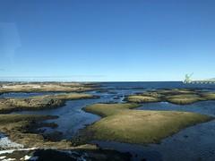View towards the Atlantic Ocean