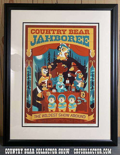 2020 Country Bear Jamboree Print by David Perillo - CBCS #245