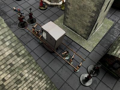 Baldur's Gate Rezmir's palanquin