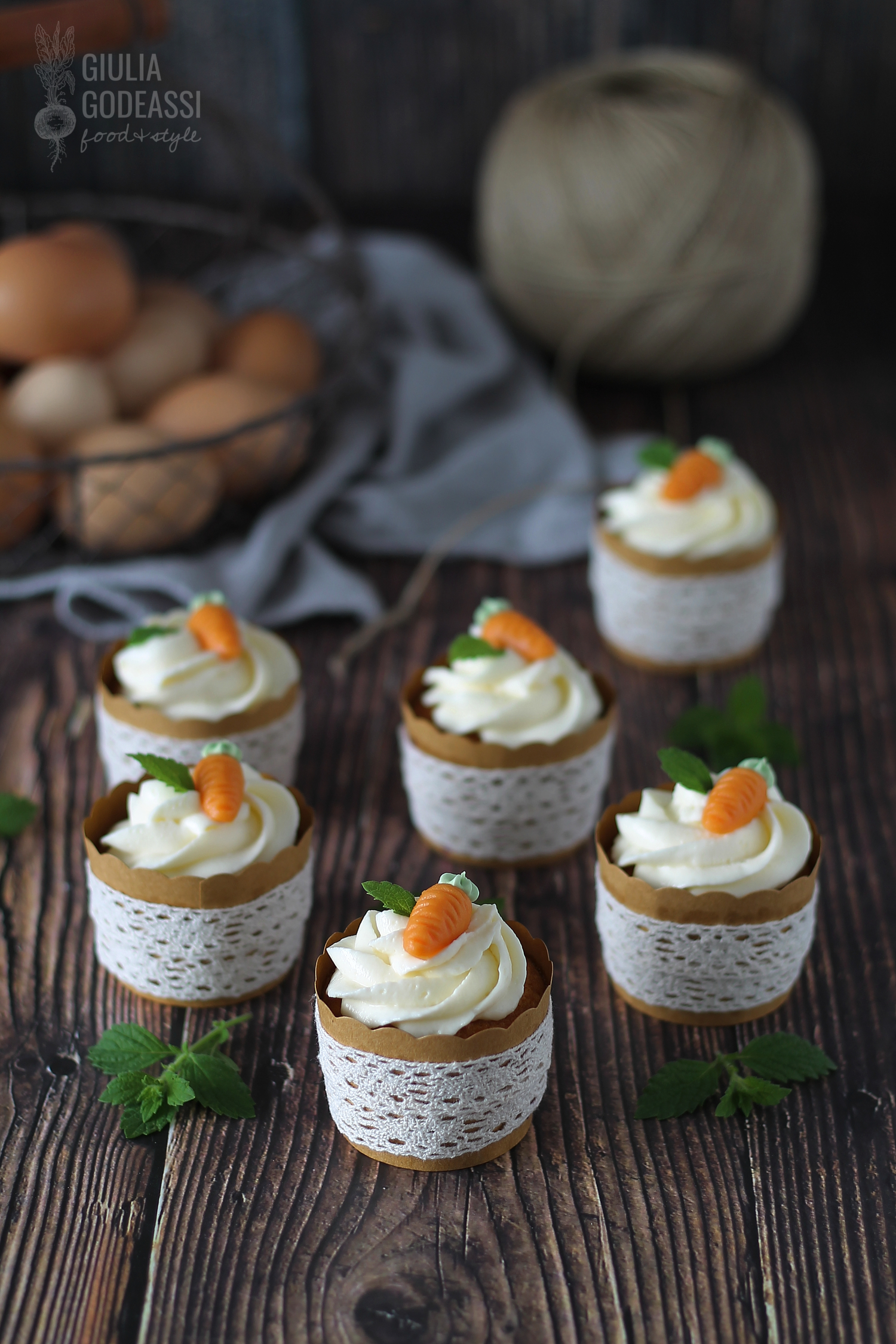 CUPCAKES ALLE CAROTE