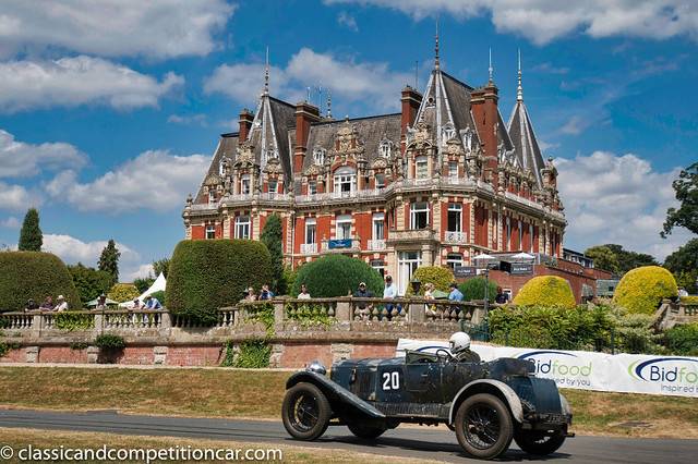 Vauxhall 30-98 at Chateau Impney 2018