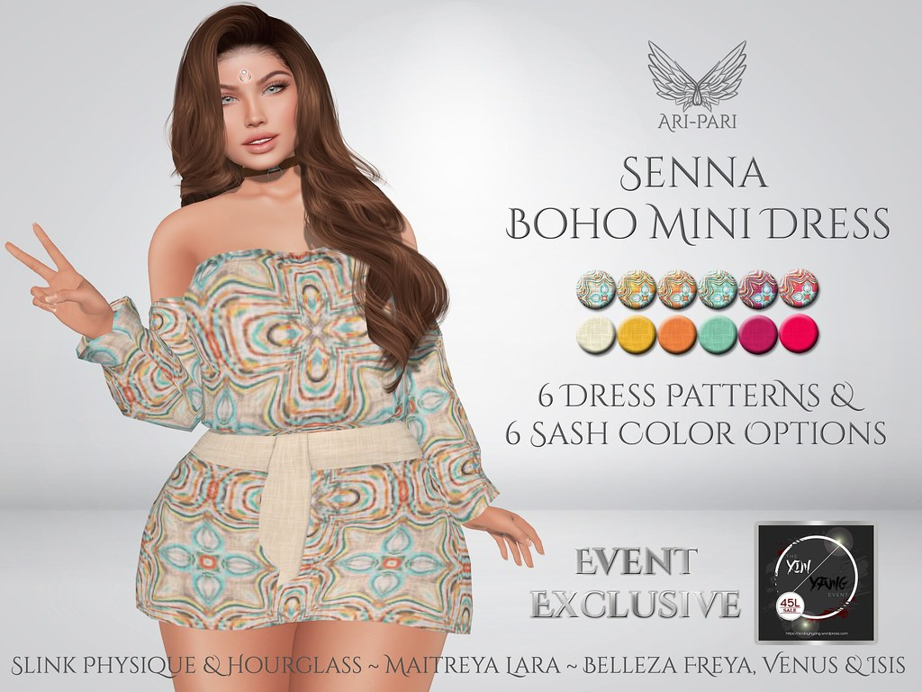 [Ari-Pari] Senna Boho Mini Dress