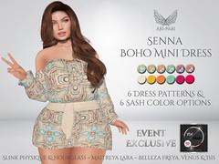 [Ari-Pari] Senna Boho Mini Dress