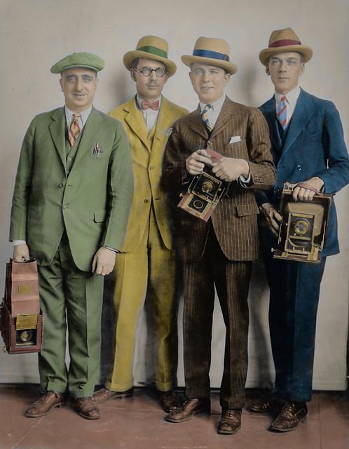 Four White House photographers (ab. 1924)