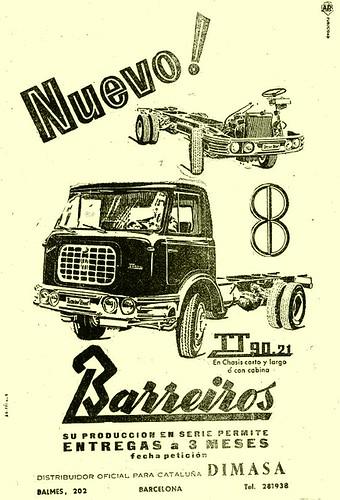 camió Barreiros TT 90.21 Dimasa Catalunya
