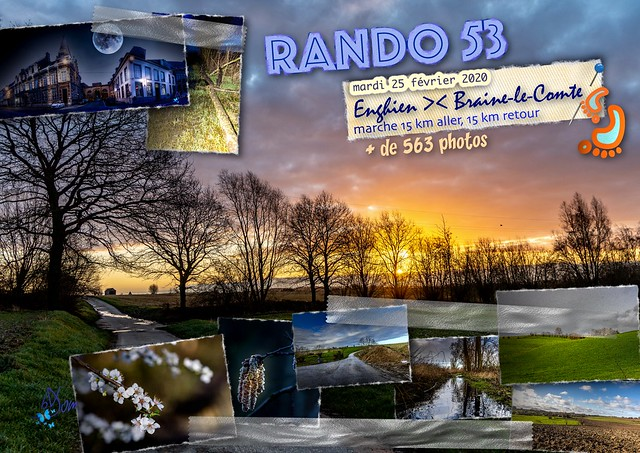 2020 - 53ème randonnée - mardi 25 février
