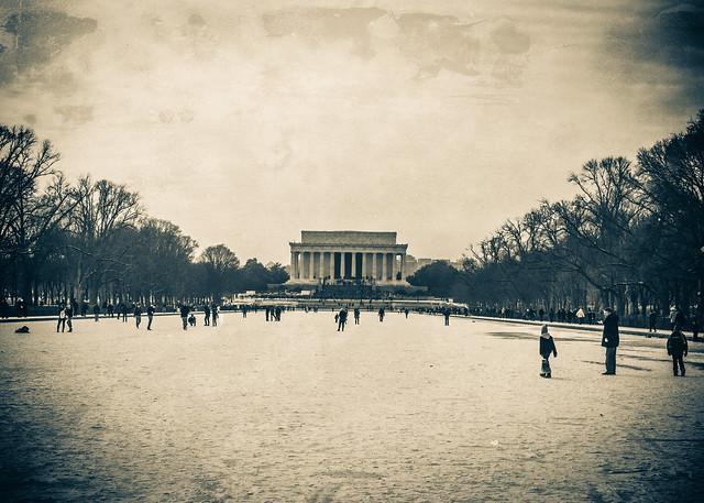 Lincoln Memorial Winter