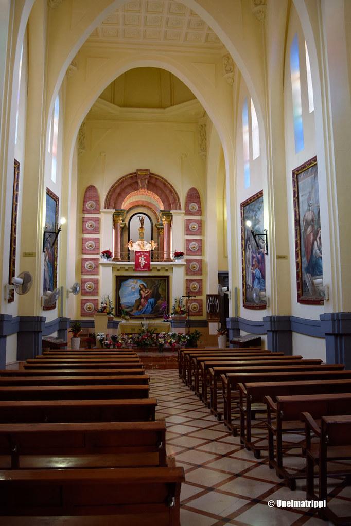 Santuario de Santa María Magdalena sisätiloista