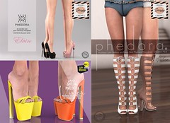 Phedora. for The Saturday Sale Official - SL & 60L Happy Weekend sale March 14-15th