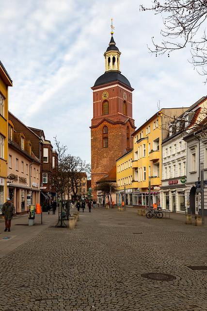 In der Carl-Schurz-Straße in Spandau
