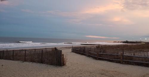 ac jerseyshore jersey newjersey atlanticcity beach sand ocean sunset