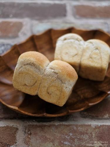 自家製酵母全粒粉ミニ食パン 20200312-DSCT3612 (2)