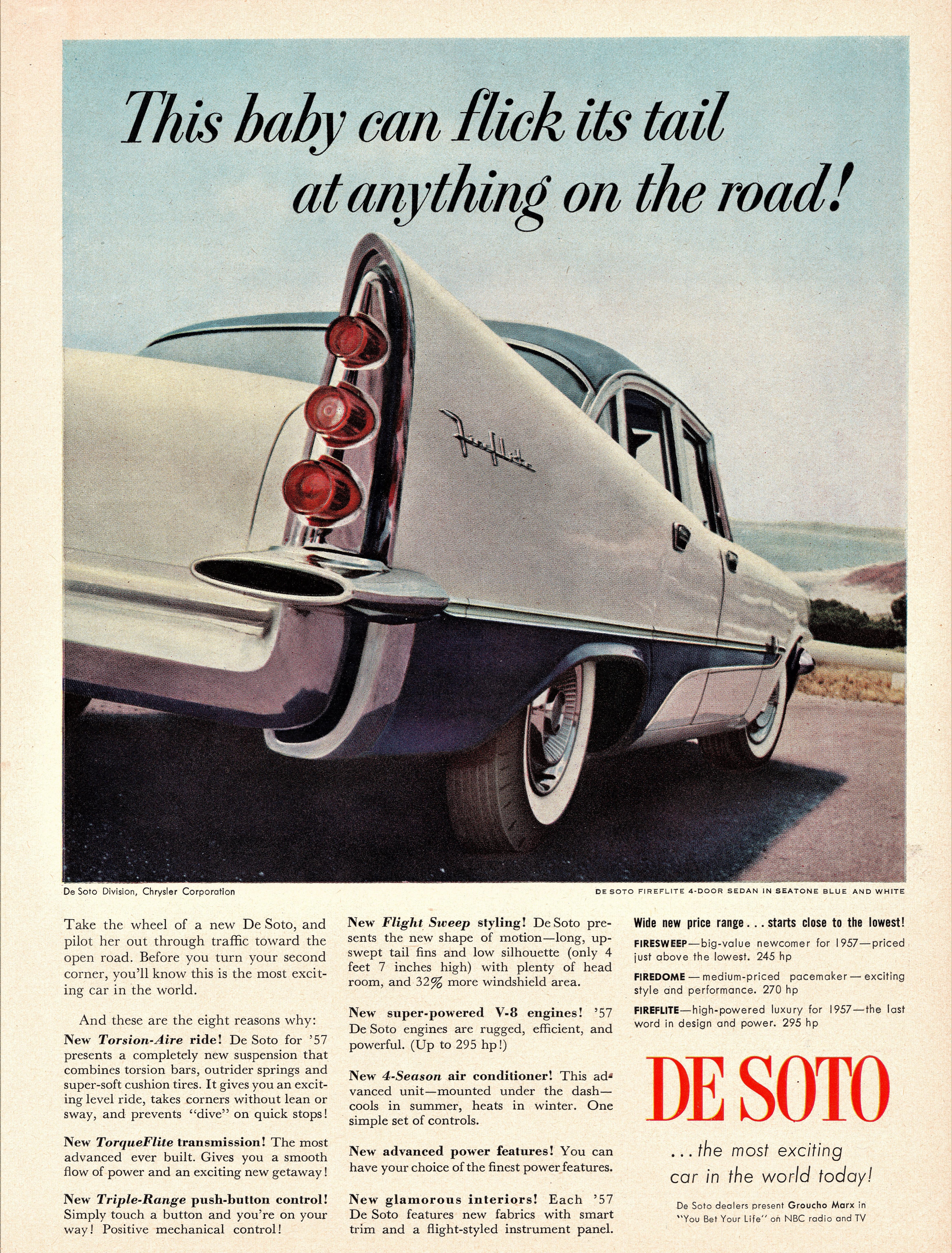 1957 DeSoto Fireflite 4-Door Sedan