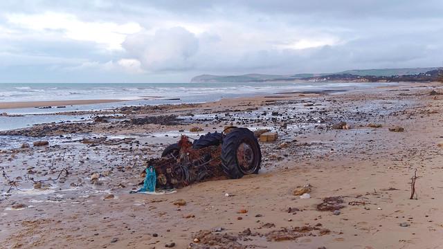 érosion marine baie de Wissant
