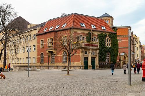 Das Kaiserliche Postamt in Spandau